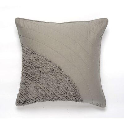 Water Cotton Pillow Cover Color: Gray