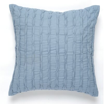 Knot Cotton Pillow Cover Color: Blue / Gray