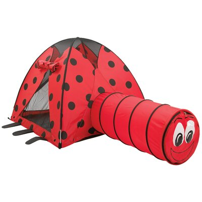Pacific Play Tents LadyBug Play Tent and Tunnel Combination 20420