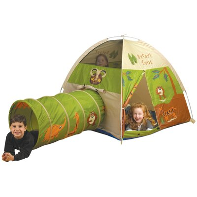 Pacific Play Tents Jungle Safari Play Tent and Tunnel Combination 20435  sc 1 st  Baby u0026 Kids Online Cutie Shop! : tree house bed tent - memphite.com