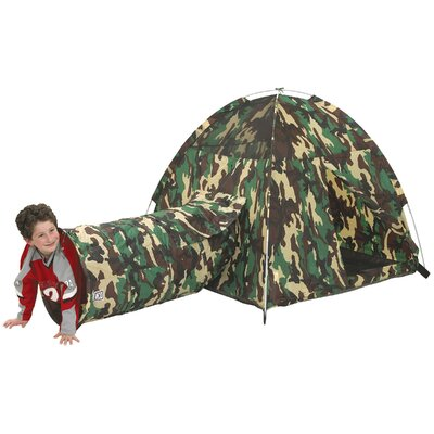 Pacific Play Tents Command HQ Play Tent and Tunnel Combination 30415