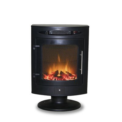 Active Flame Mistral Electric Stove in Black