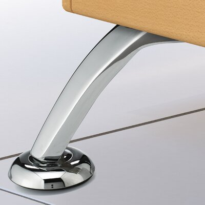 Contemporary Furniture Leg Finish: Polished Chrome