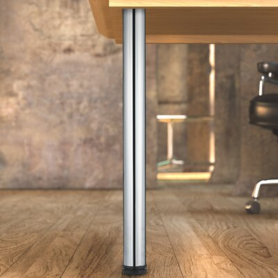 Adjustable Table Leg Finish: Chrome