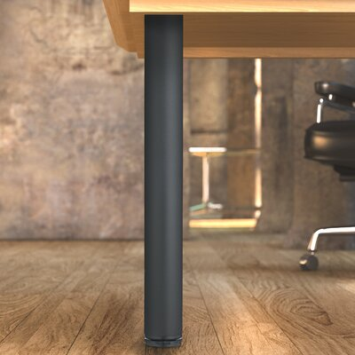 Adjustable Table Leg Finish: Matte Black