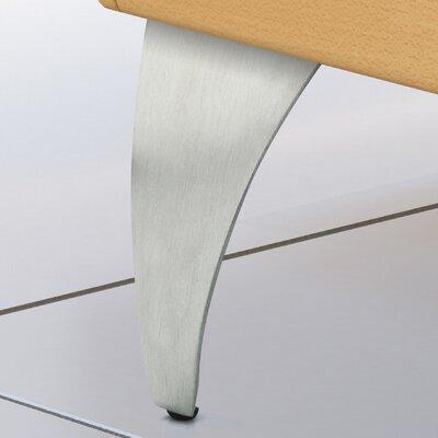Aluminum Furniture Leg Finish: Brushed Aluminum