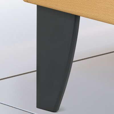 Decorative ABS Leg Finish: Matte Black