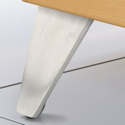 Aluminum Furniture Leg Finish: Satin Aluminum