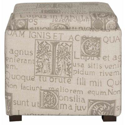 Liv Script Storage Ottoman