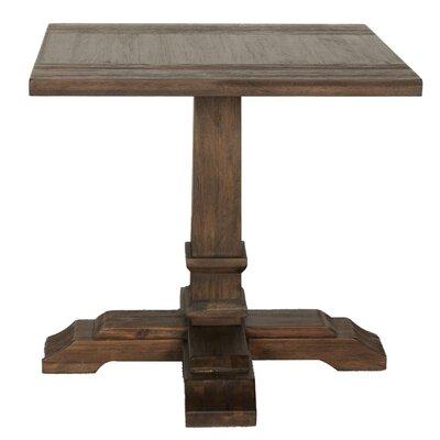 Savin End Table Color: Rustic Java