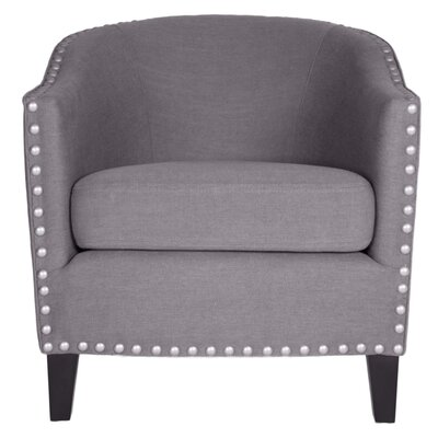 Lygia Traditional Barrel Chair Finish: Dove