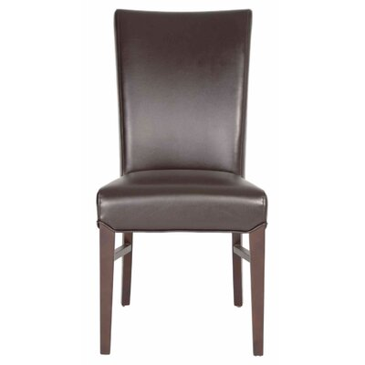 London Parsons Chair (Set of 2) Upholstery: Havana
