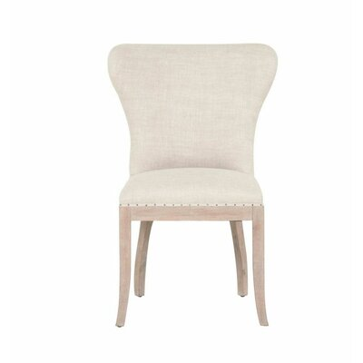Welles Parsons Chair (Set of 2) Finish: Stone Wash