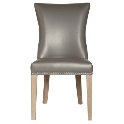 Raphael Traditional Side Chair (Set of 2) Finish: Pebble