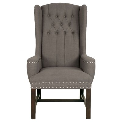 Manoel Wingback Chair Upholstery: Dove