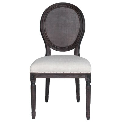 Viviers Side Chair (Set of 2) Finish: Rustic Java