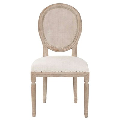 Viviers Side Chair (Set of 2) Finish: Stone Wash