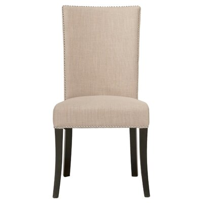 Ahren Side Chair (Set of 2) Finish: Almond