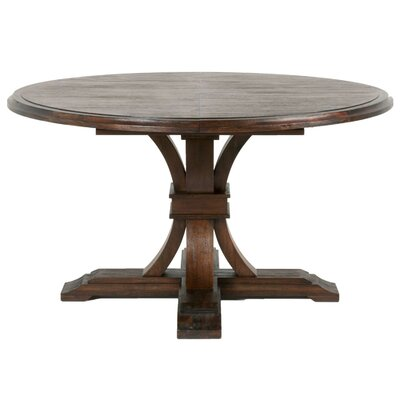 Becquets Extendable Dining Table Finish: Rustic Java