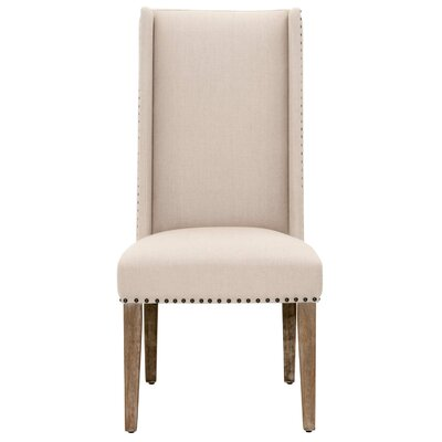 Velay Side Chair (Set of 2) Upholstery: Stone