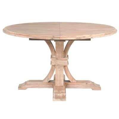 Becquets Extendable Dining Table Finish: Stone Wash