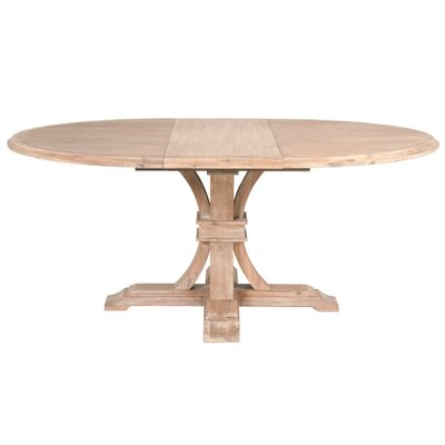 Devon Extendable Dining Table Finish: Stone Wash