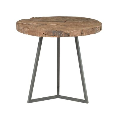 Magnolia Timber Round End Table