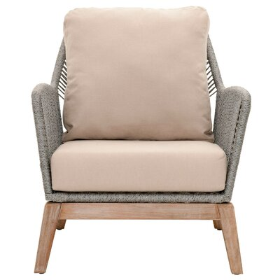 Chantay Armchair Upholstery: Platinum