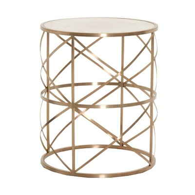 Agustin Round End Table