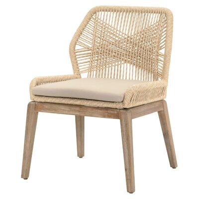 Chantay Side Chair (Set of 2) Finish: Sand