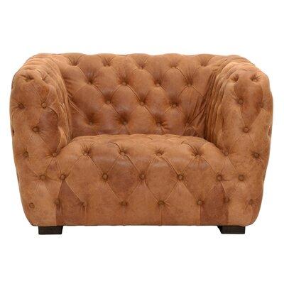 Patina Rockwell Sofa Barrel Chair Upholstery: Chestnut