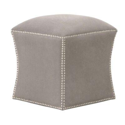 Neves Ottoman Upholstery: Ash