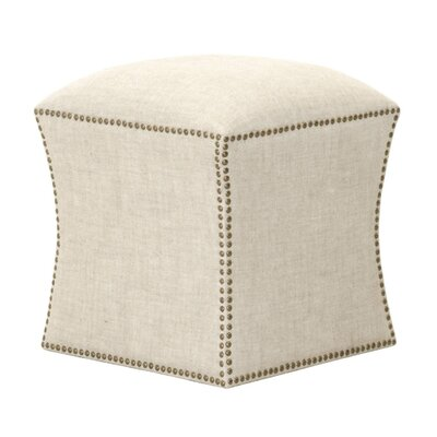 York Square Ottoman Upholstery: Bisque