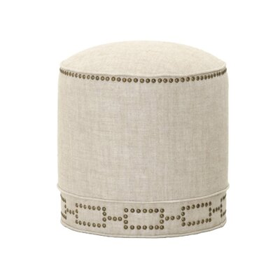 Beauville Pouf Upholstery: Bisque