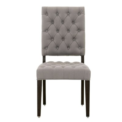 James Side Chair (Set of 2) Upholstery: Ash