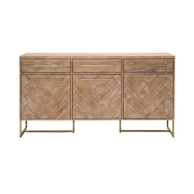 Mosaic Sideboard Finish: Stone Wash