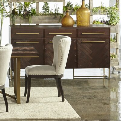Mosaic Sideboard Color: Rustic Java