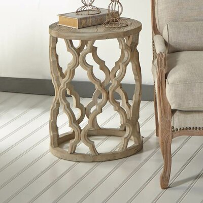 Crissay Wood End Table