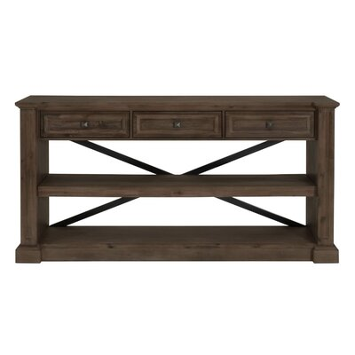 Hudson Console Table Finish: Rustic Java