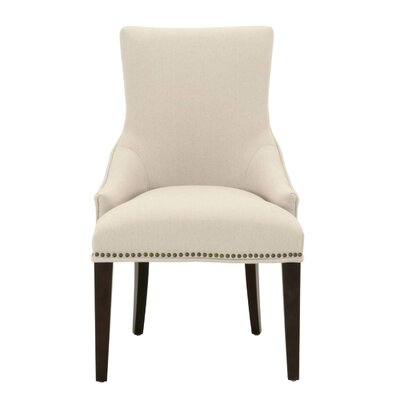 Carnaff Side Chair Upholstery: Linen