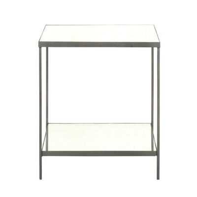 Rylan Square End Table Finish: Vintage Iron