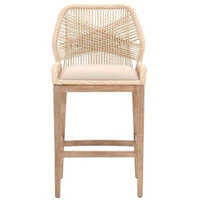 Stenson 44.5 Bar Stool Upholstery: Sand