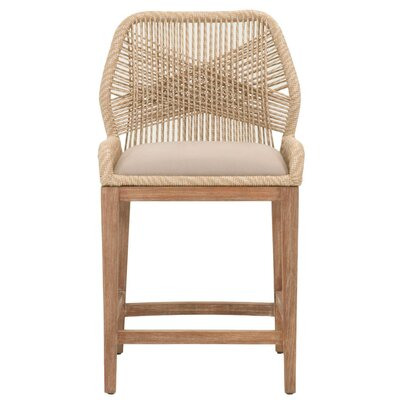 Chantay 26 Bar Stool Upholstery: Sand