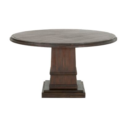 Hudson Dining Table Finish: Rustic Java