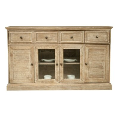 Orient Express Furniture Hudson Traditions Sideboard in Distressed Stone Wash (RXU1002)