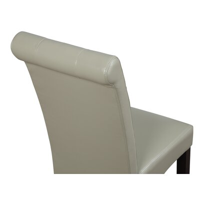 Cosmopolitan Upholstered Dining Chair Upholstery Color: Satin Cream