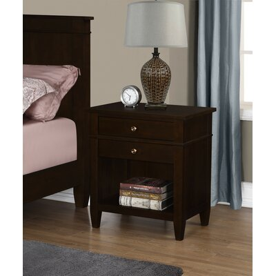 Carlton 2 Drawer Nightstand