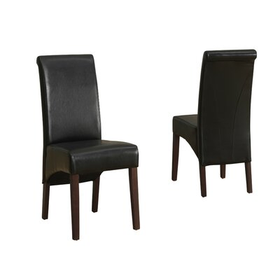 Avalon Parsons Chair Finish: Midnight Black