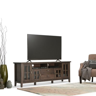 Artisan 72 TV Stand Color: Natural Aged Brown
