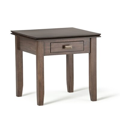 Artisan End Table Color: Natural Aged Brown